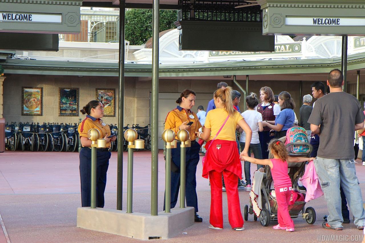 RFID Turnstiles at all 4 parks