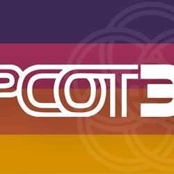 Epcot 35 logo