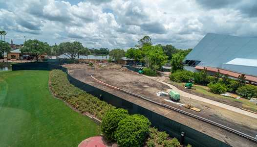 PHOTOS - Epcot's Rosewalk expansion between Future World and World Showcase