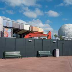 Demolition machinery at Innoventions West