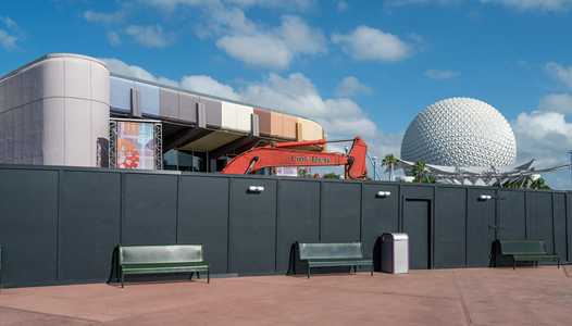 PHOTOS - Heavy machinery brought in to Innoventions West area ahead of demolition work