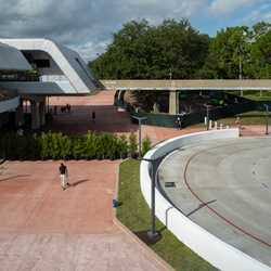 New Epcot tram loop and entrance