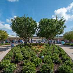 Epcot main entrance area - July 15 2020