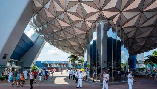 VIDEO - EPCOT's reopening from COVID-19 shutdown