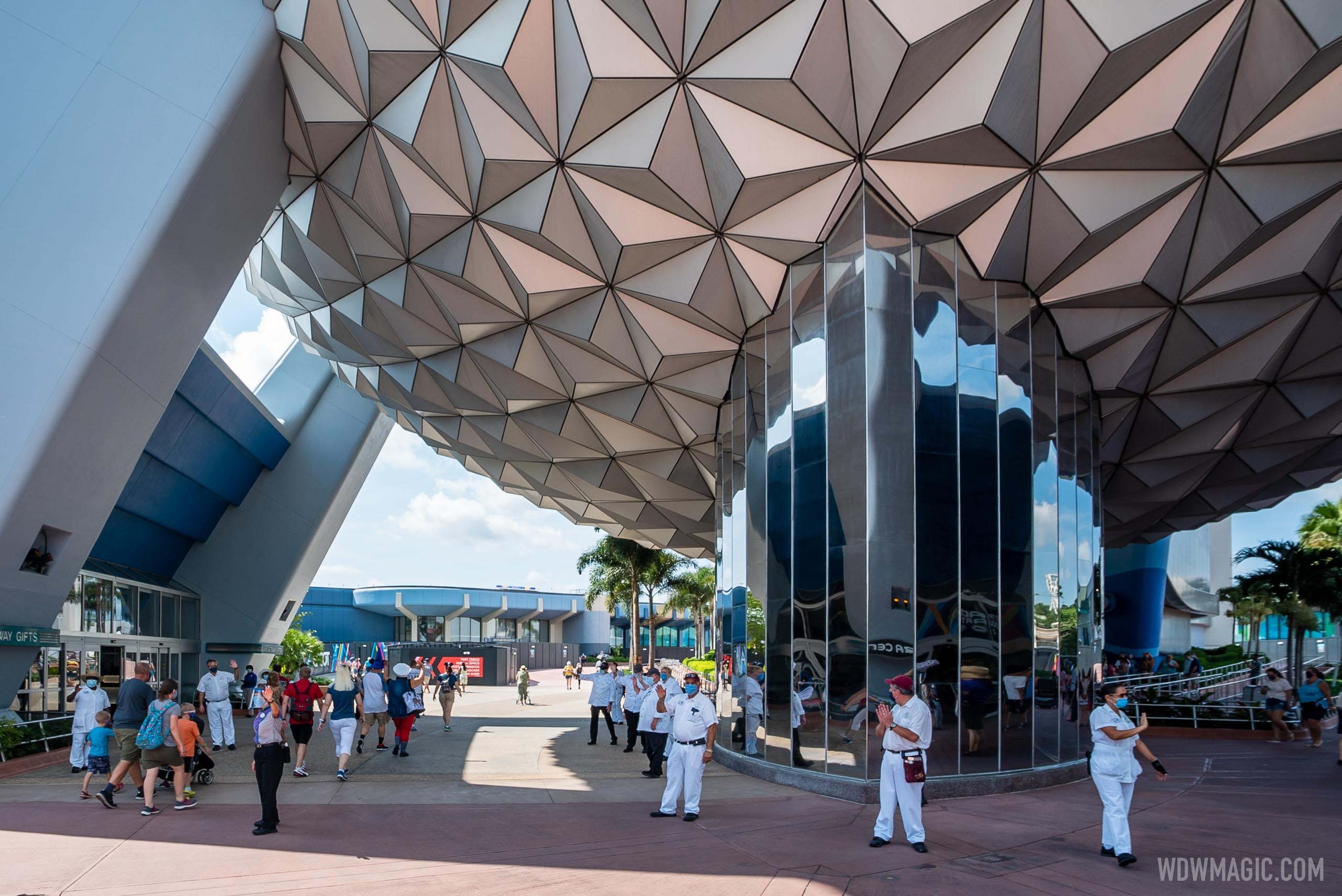 EPCOT reopening