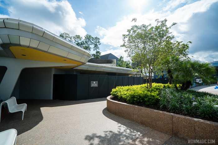 EPCOT Future World East restroom refurbishments - September 18 2020