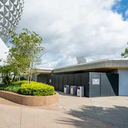 EPCOT Future World East restroom refurbishments - September 18 2020