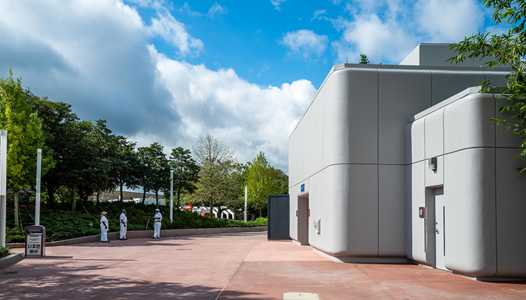 PHOTOS - Test Track area restrooms reopen and Spaceship Earth area restrooms close for refurbishment