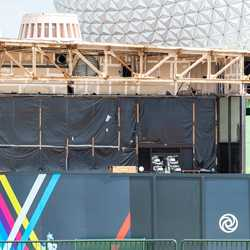 EPCOT Future World Electric Umbrella demolition - September 23 2020