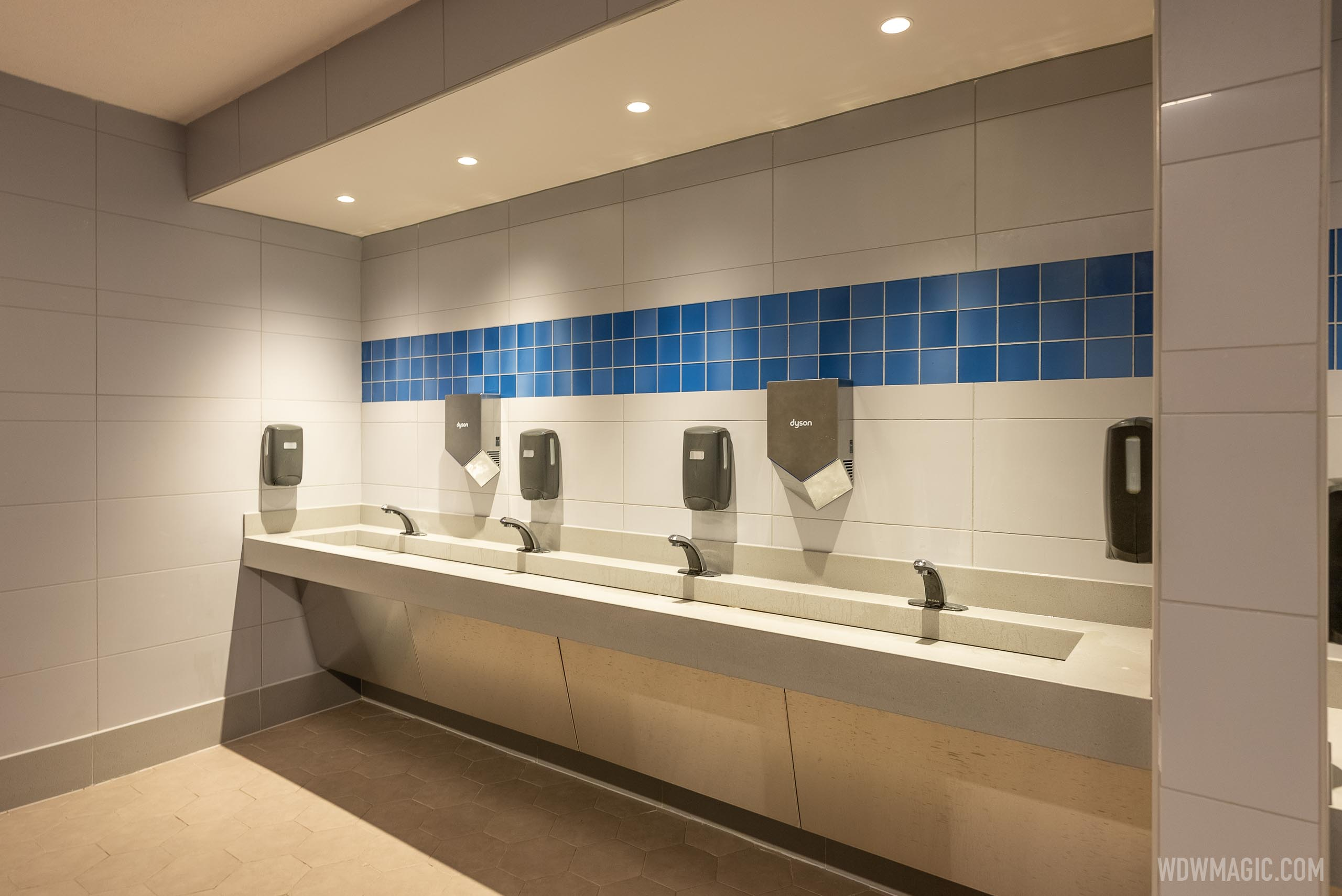 EPCOT Future World East restroom reopening - November 26 2020
