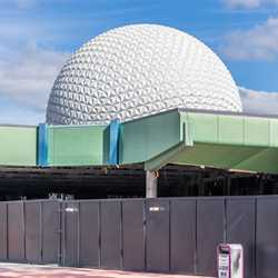 EPCOT Future World West and East demolition - December 3 2020