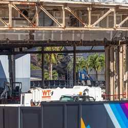 EPCOT Future World West  demolition - December 11 2020
