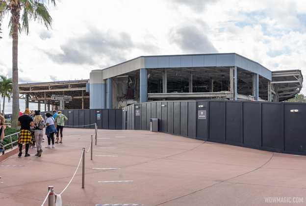 EPCOT Future World West demolition - December 14 2020