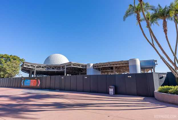 EPCOT Future World West demolition - December 18 2020
