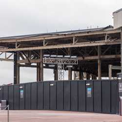 EPCOT Innoventions West demolition - January 26 2021