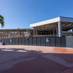 EPCOT Innoventions West demolition - February 9 2021