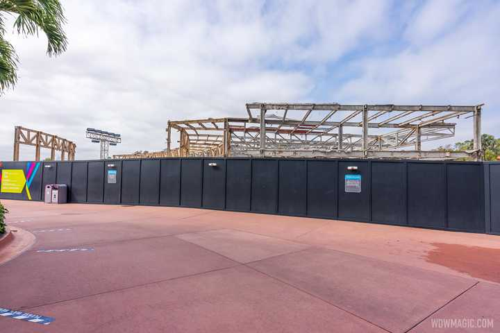 PHOTOS - Innoventions West demolition nearing completion at EPCOT