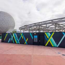 EPCOT Innoventions West demolition - March 2 2021