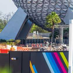 EPCOT Innoventions West demolition - March 15 2021