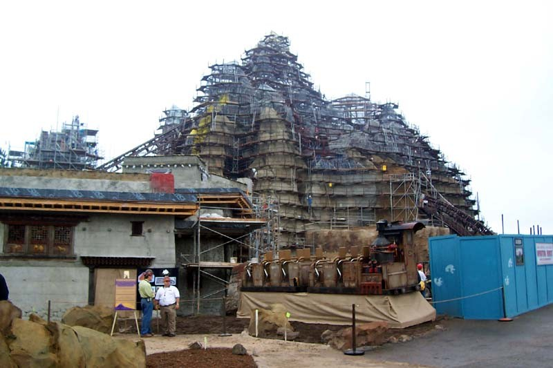 Expedition Everest construction tour