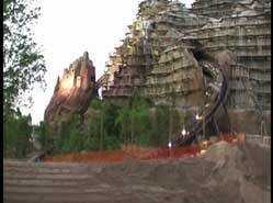 A look at Expedition Everest test runs