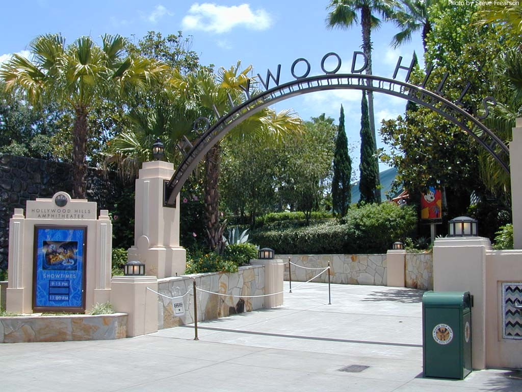 The Hollywood Hills Amphitheater