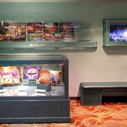 One Man's Dream Fantasyland exhibit concept art and models