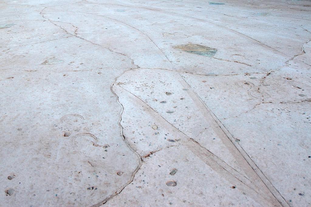 New concrete work