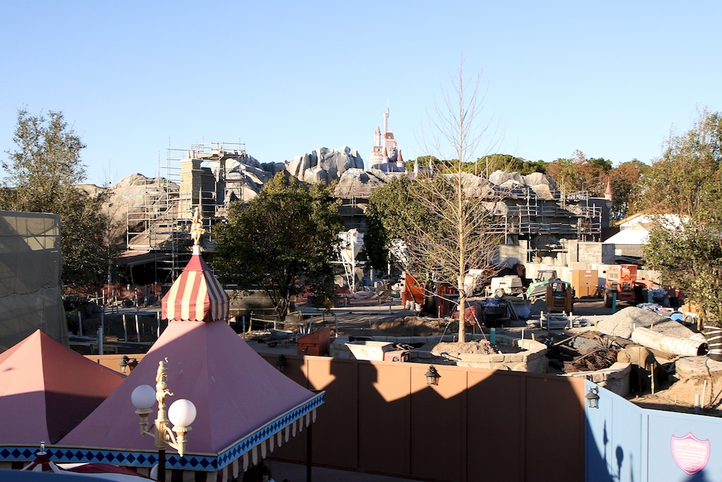 Fantasyland construction site