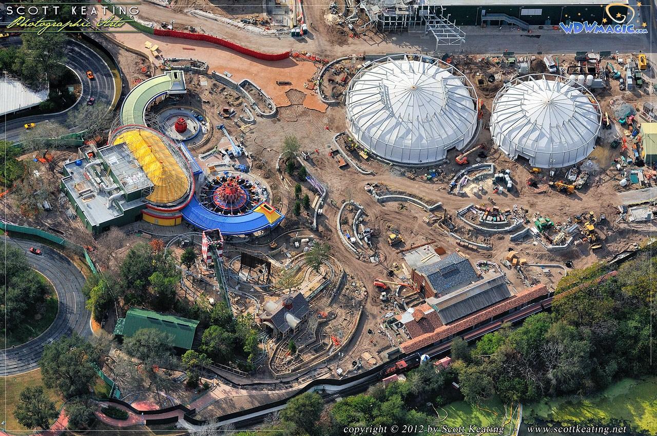 Aerial Construction photos