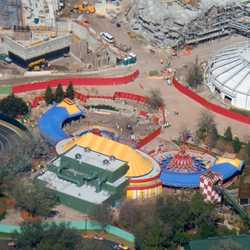 Storybook Circus aerial views