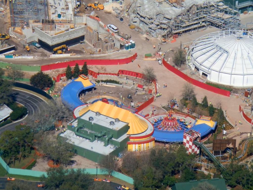 Storybook Circus aerial views