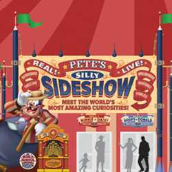 Concept art - Pete's Silly Sideshow