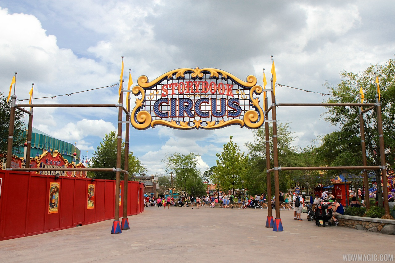 New Storybook Circus Signage