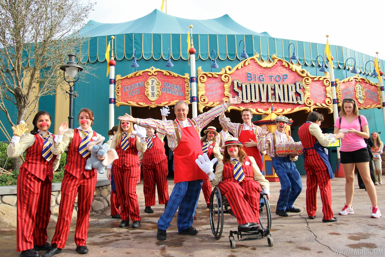 Big Top Souvenirs opening day