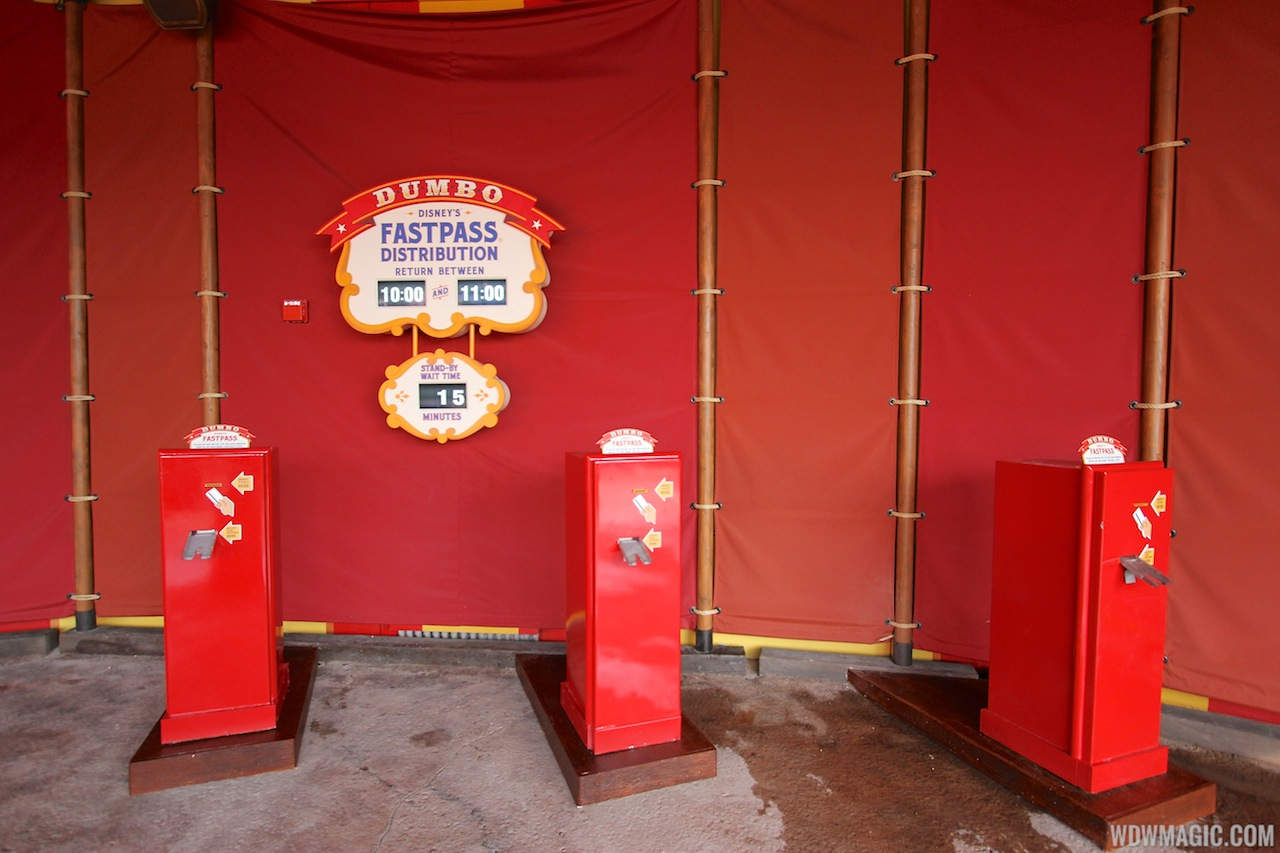 FASTPASS in Storybook Circus