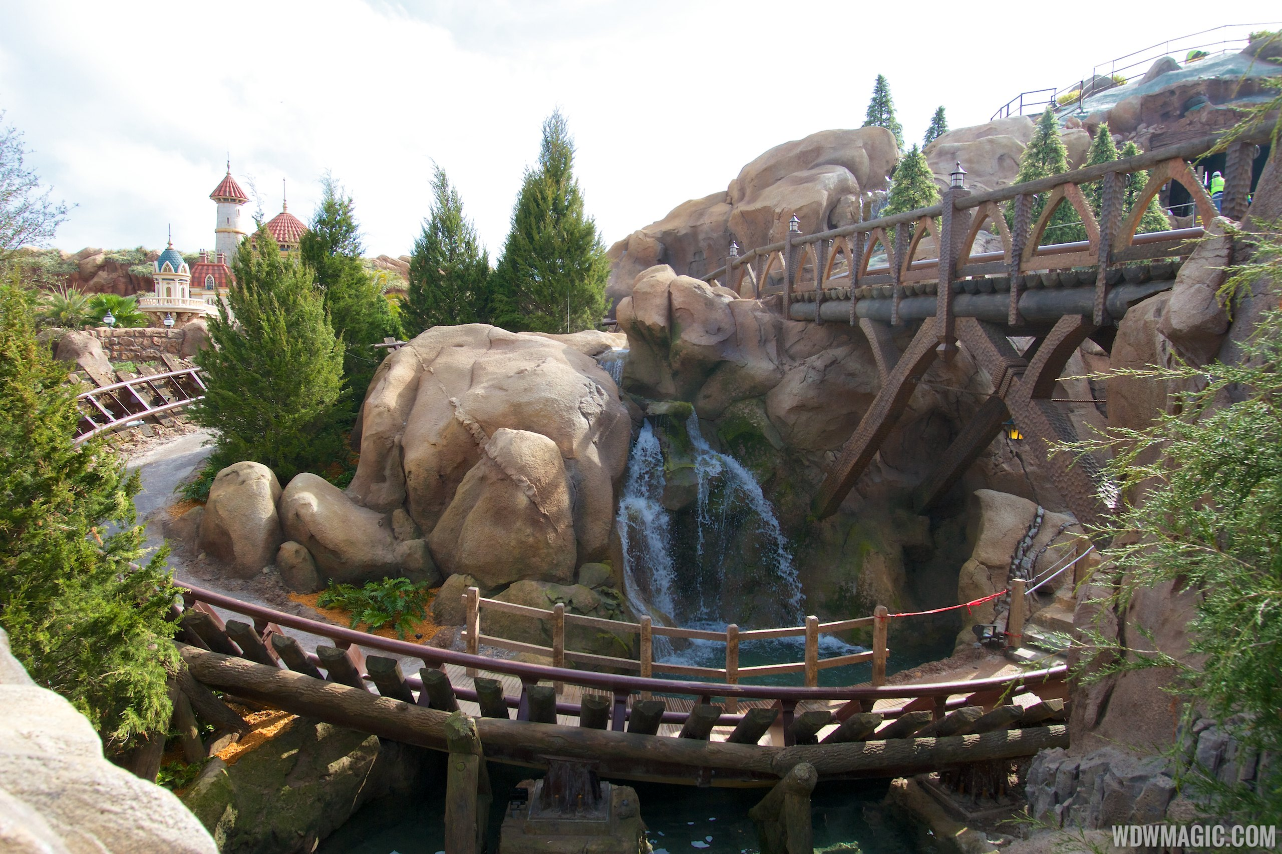 Seven Dwarfs Mine Train Coaster