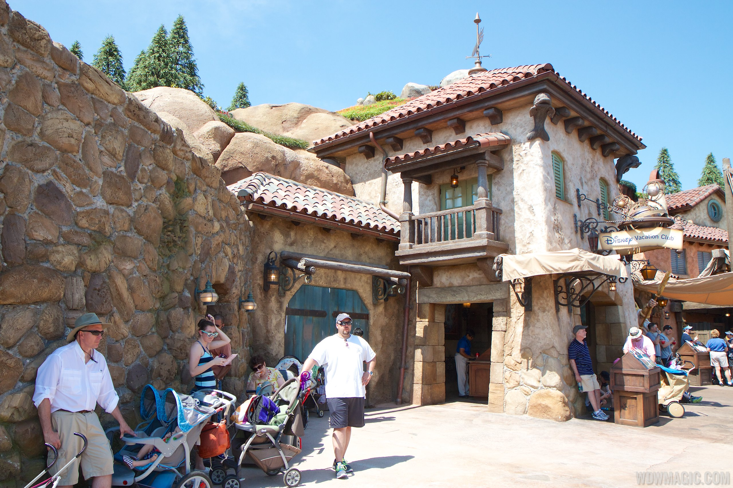 Final construction at Seven Dwarfs Mine Train removed