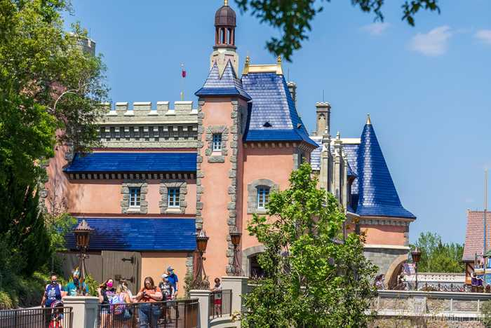 Fantasyland roofline refurbishments - April 2021