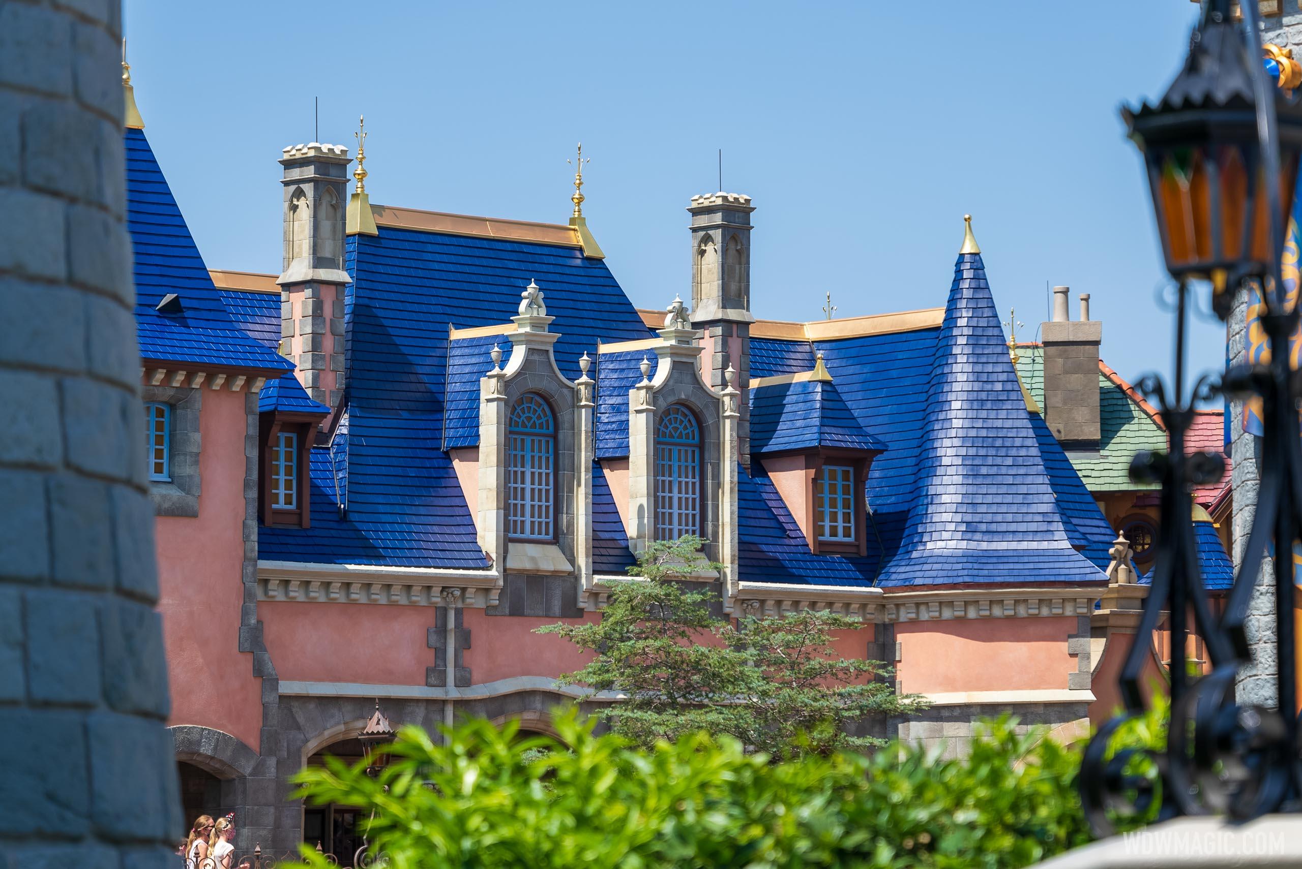 Fantasyland roofline refurbishments - April 2021