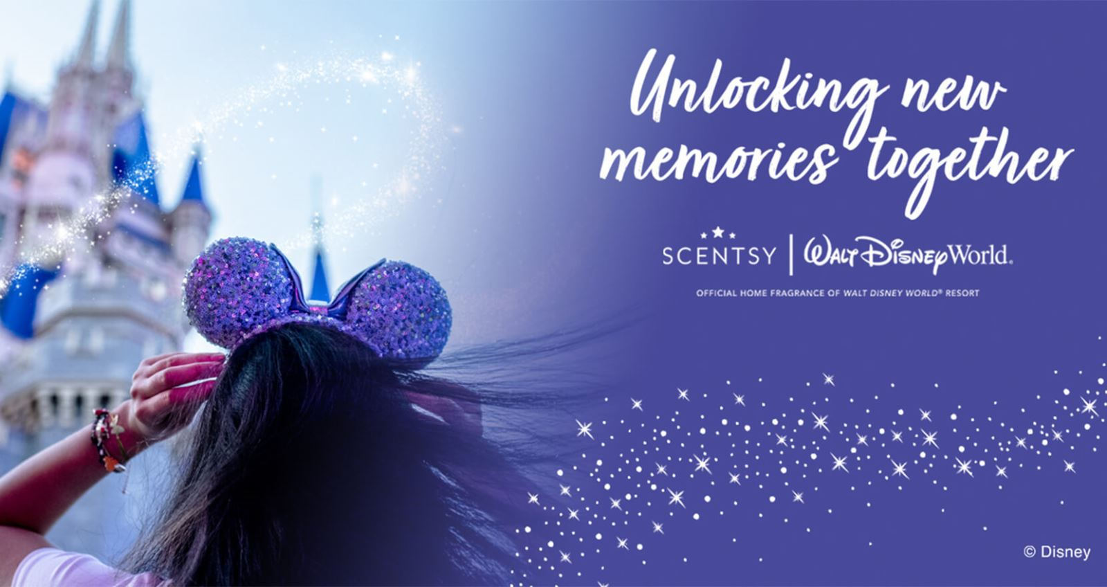 Something new coming to Fantasyland as Scentsy becomes the Official Home Fragrance of Walt Disney World Resort