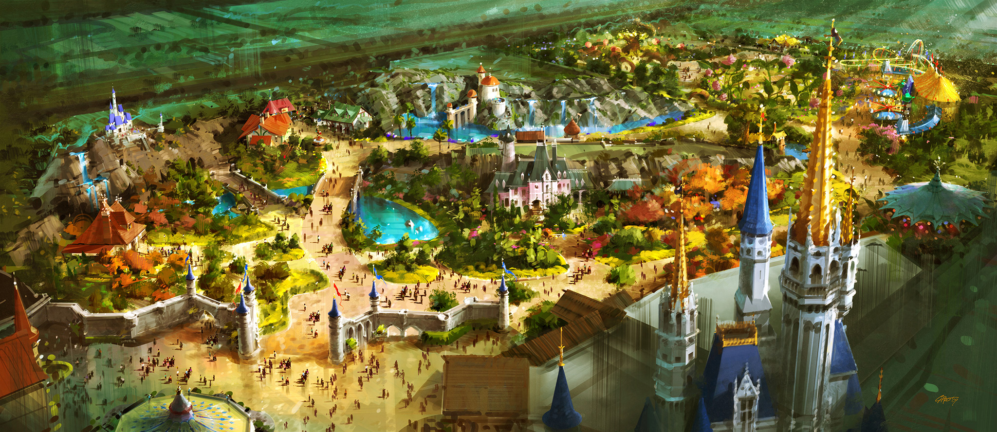 New Fantasyland concept art