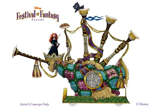 Disney Festival of Fantasy - Brave