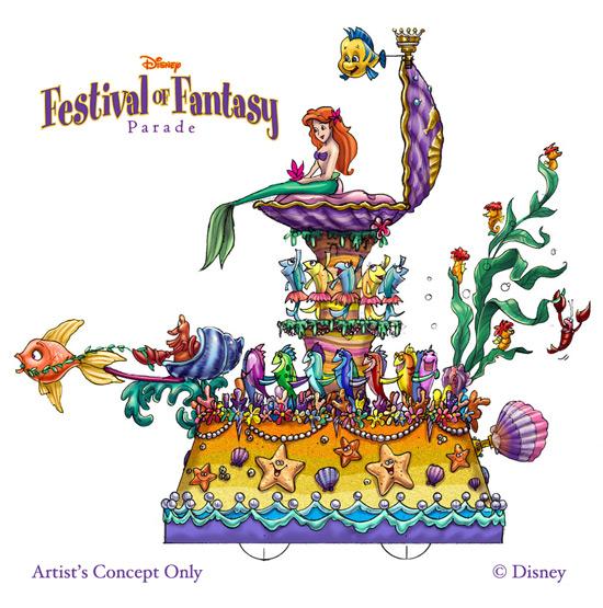 Fantasy Festival Concept Art
