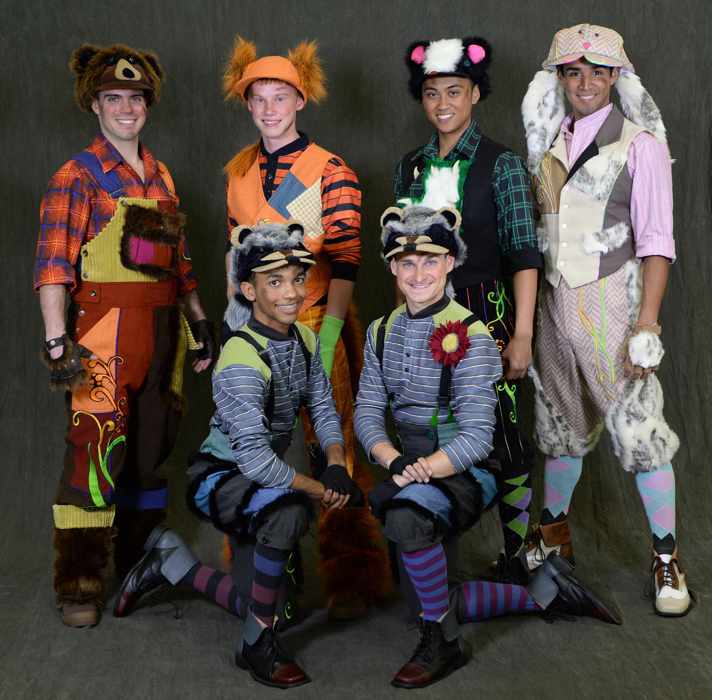 Disney Festival of Fantasy Parade Costumes - Lost Boys