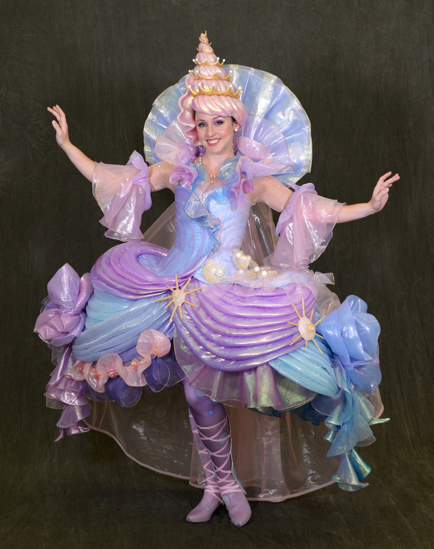 Disney Festival of Fantasy Parade Costumes - Seashell Girl