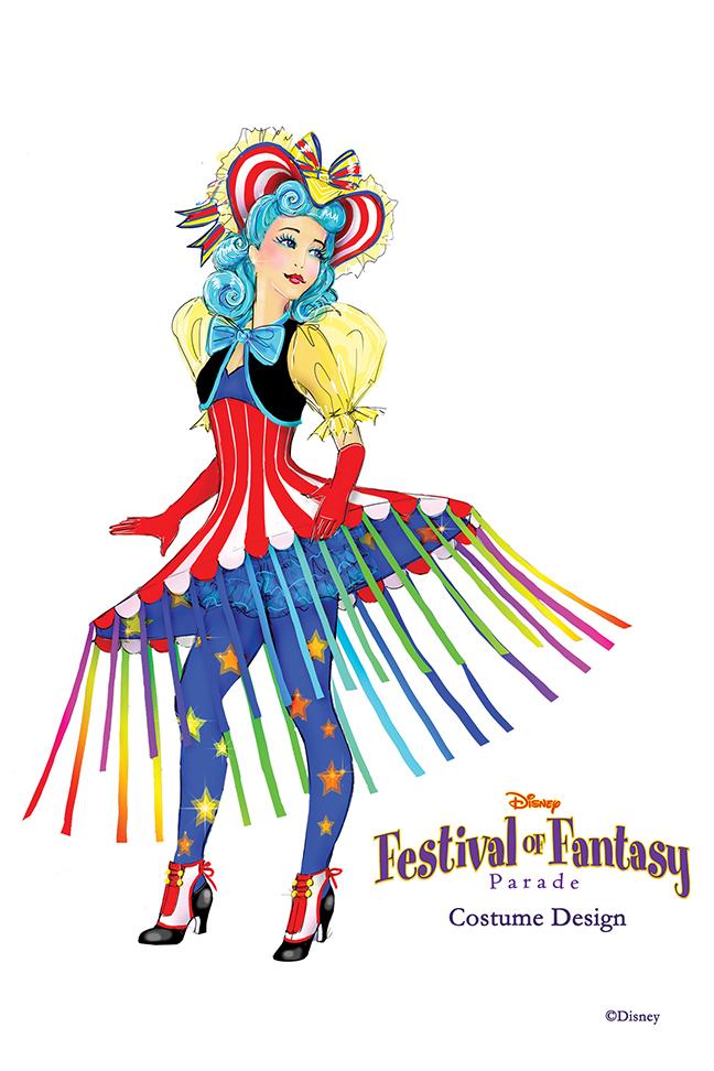 Disney Festival Of Fantasy Costume Design Photo 5 Of 12