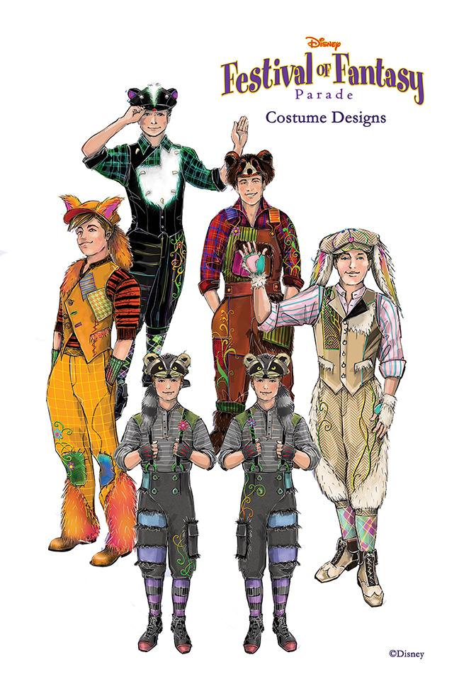 Disney Festival Of Fantasy Costume Design Photo 7 Of 12