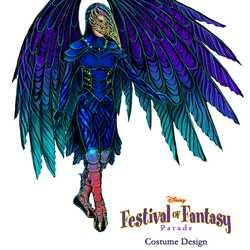 Disney Festival of Fantasy costume design