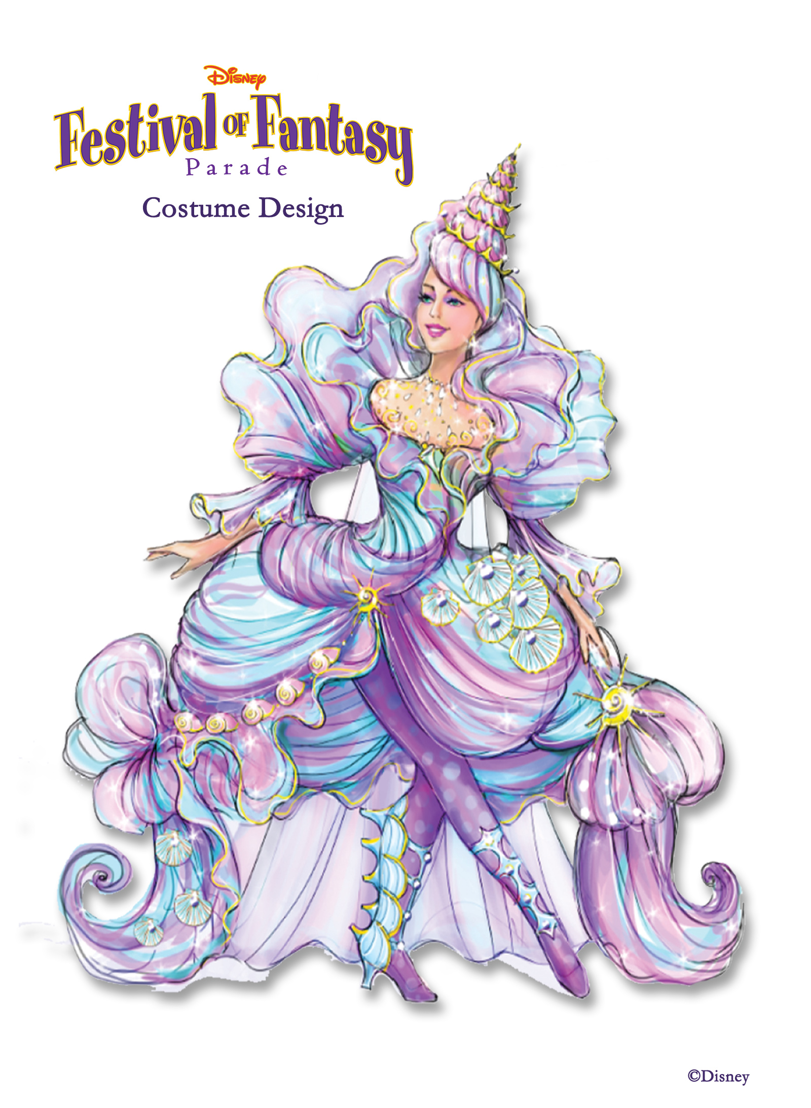 Disney Festival Of Fantasy Costume Design Photo 1 Of 12